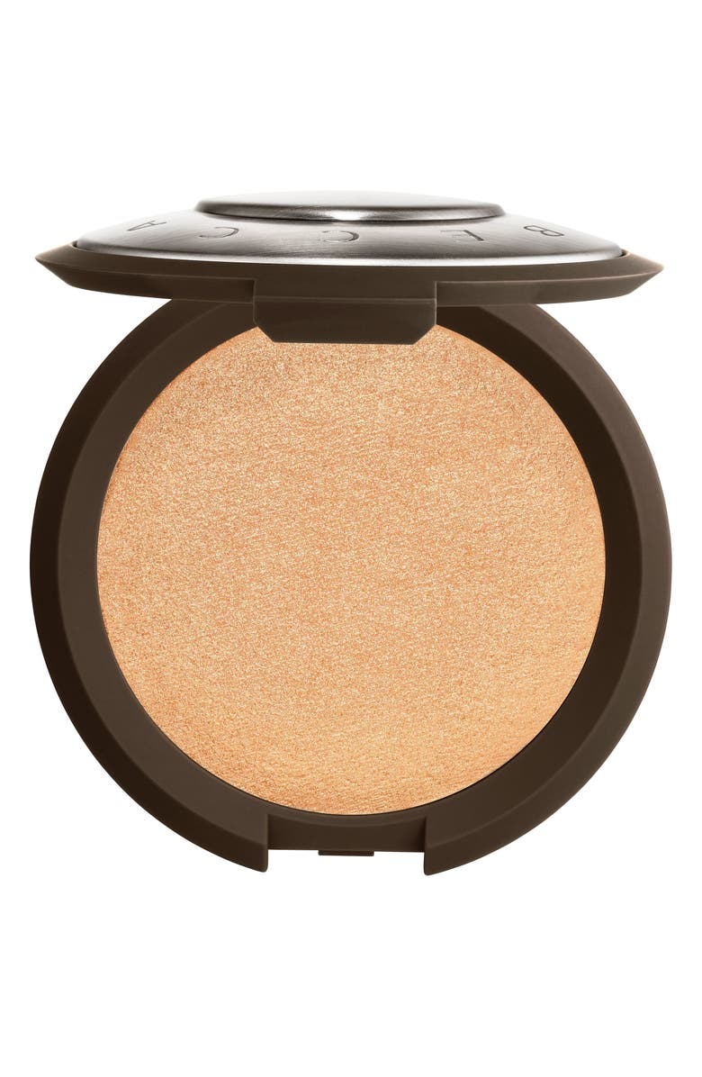BECCA COSMETICS Shimmering Skin Perfector Pressed Highlighter, Main, color, CHAMPAGNE POP