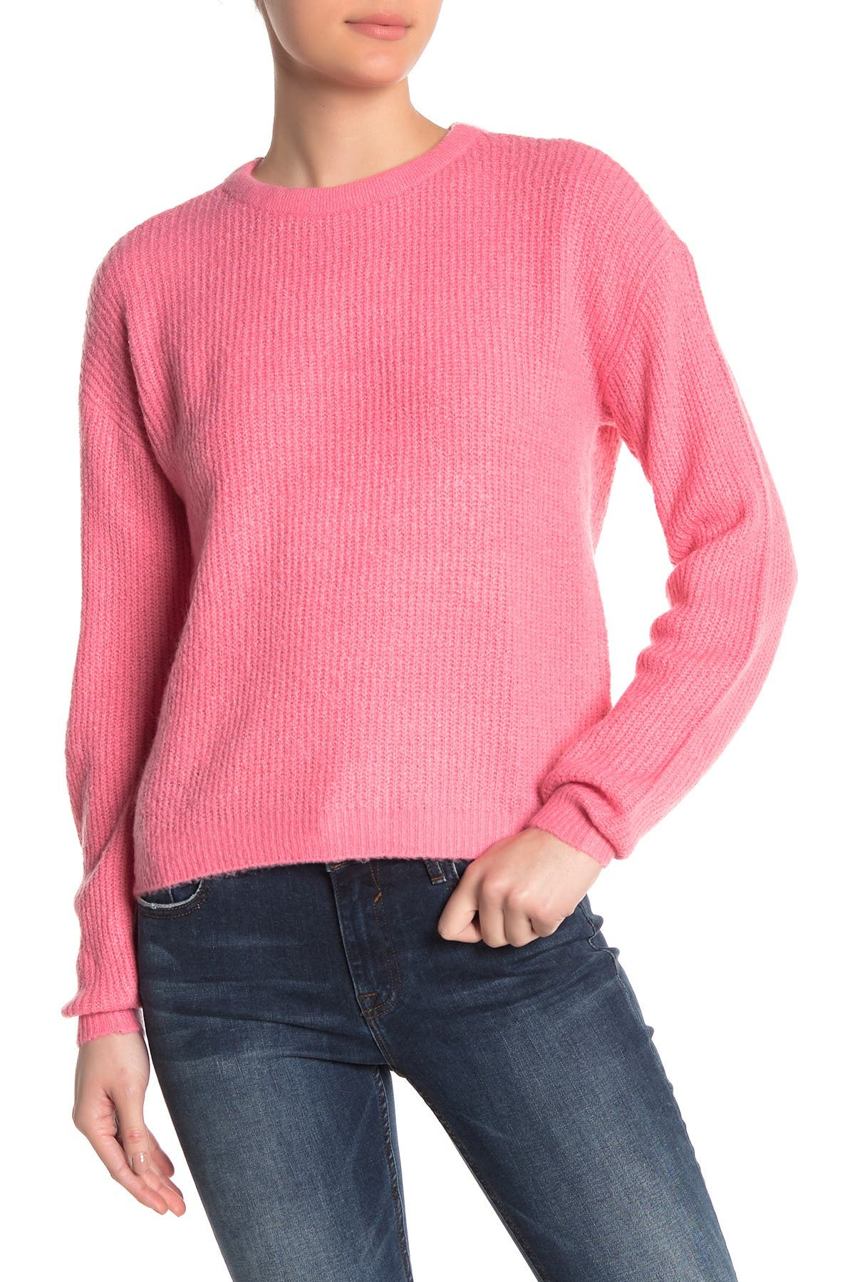 Image of VERO MODA Rana Tie Back Crew Neck Sweater