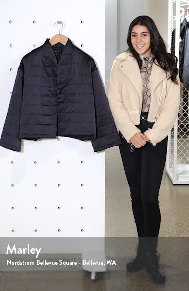 Quilted Silk Coat, sales video thumbnail