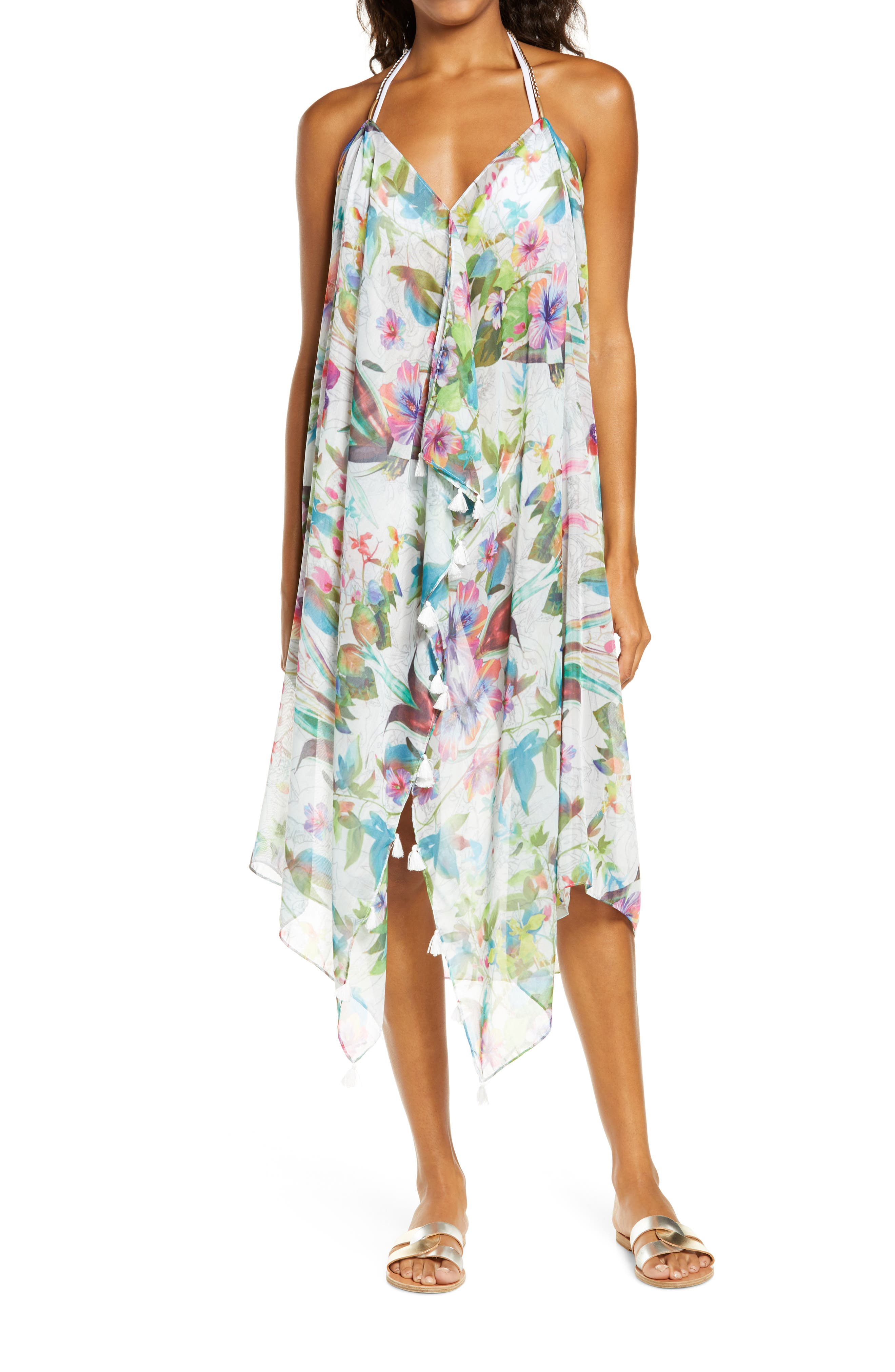 Image of POOL TO PARTY Aloha Paradise Cover-Up Dress