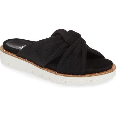 Bp. Terri Knotted Slide Sandal, Black