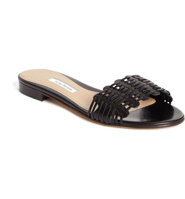 EMME PARSONS Paloma Slide Sandal, Main, color, BLACK