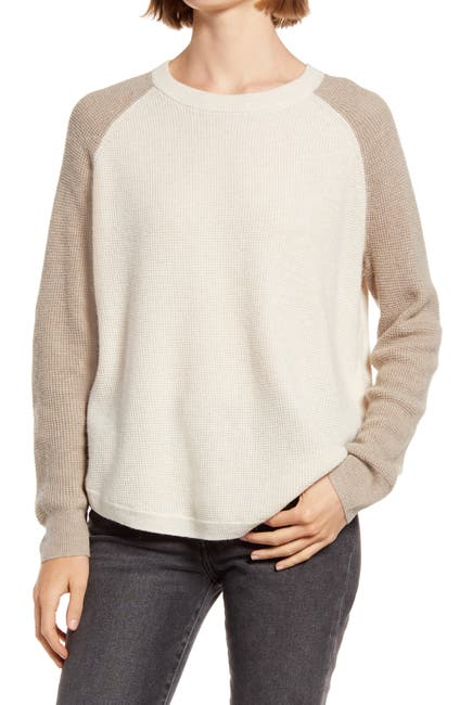 Image of Madewell Jane Waffle Pullover