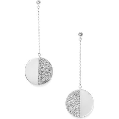 Kate Spade New York Mod Scallop Pave Linear Earrings