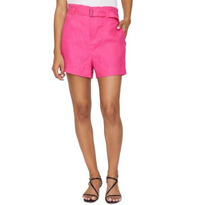 Sanctuary The Wells Belted Shorts, Pink