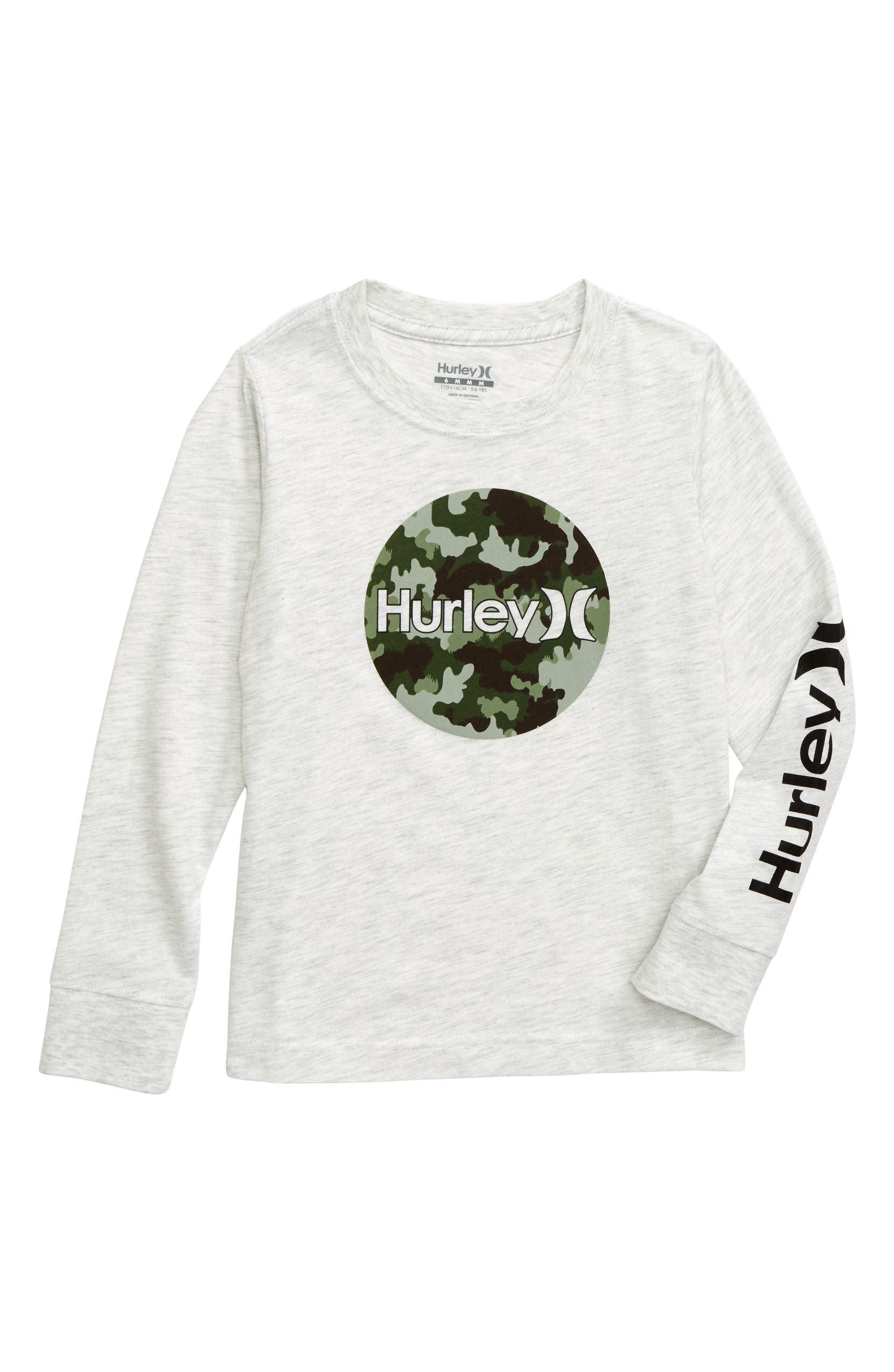 31655b32 Hurley Camo Fill Long Sleeve T-Shirt (Toddler Boys & Little Boys ...