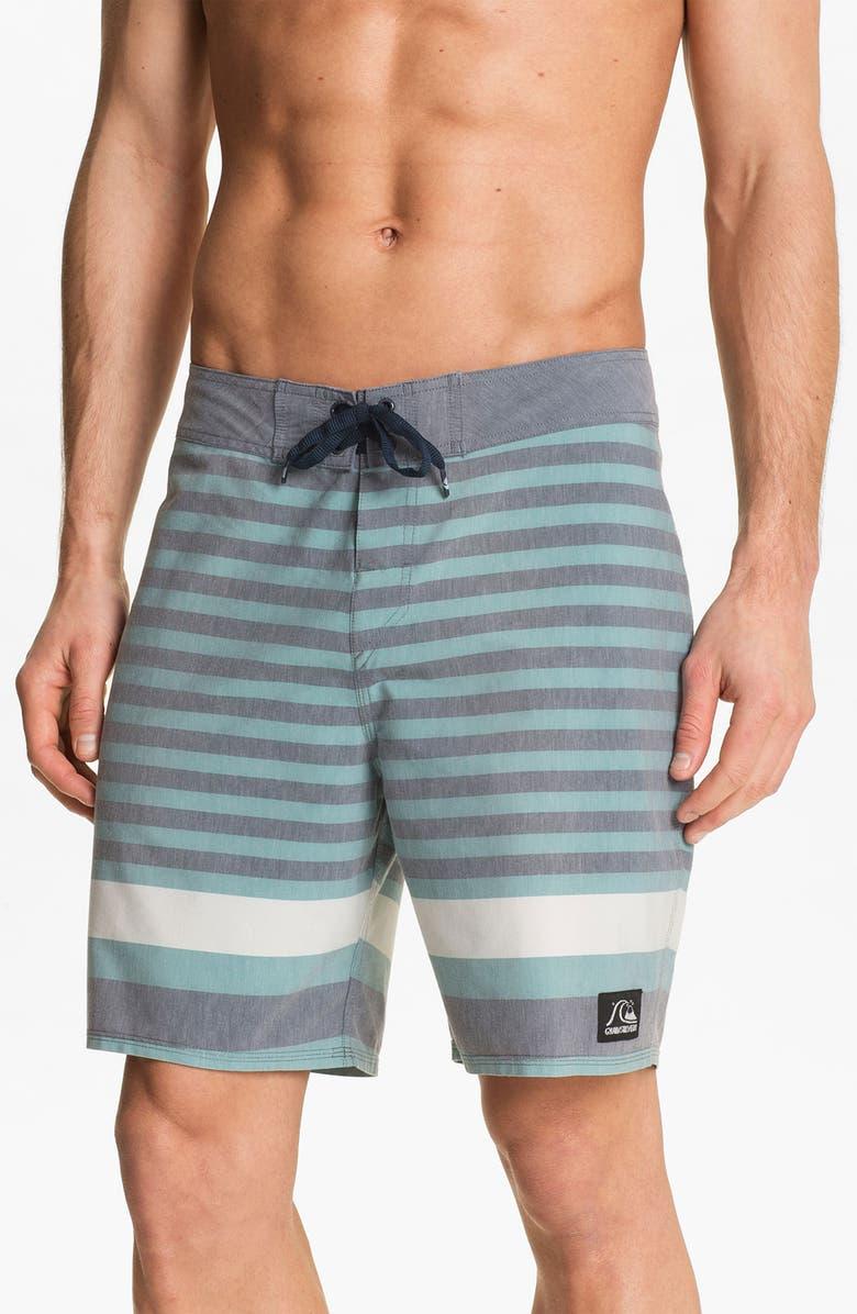 QUIKSILVER 'Biarritz' Stripe Board Shorts, Main, color, 066