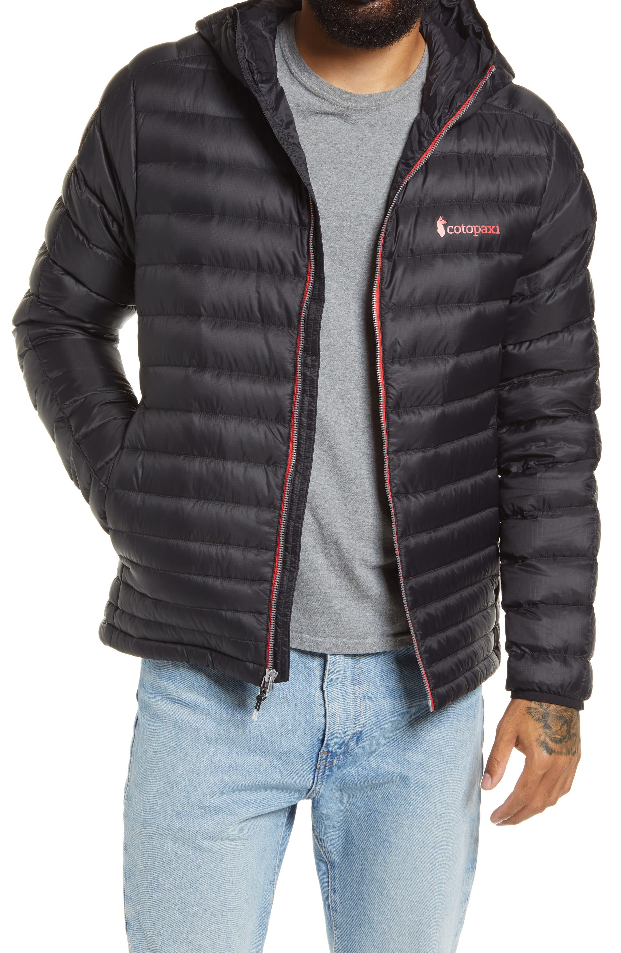 Men's Fuego Hooded Water Resistant Down Jacket