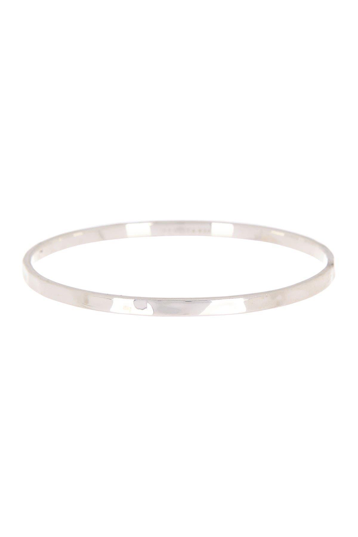 Image of Ippolita Sterling Silver Senso Thin Bangle Bracelet