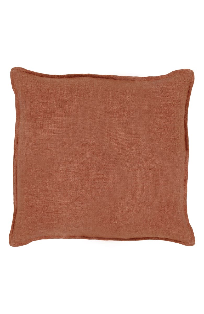 POM POM AT HOME Montauk Large Euro Accent Pillow Cover, Main, color, TERRA COTTA
