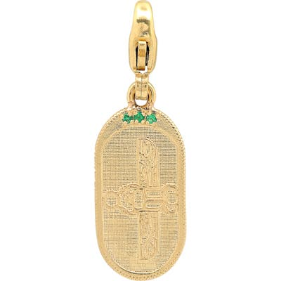 Conges Scarab Collection Oval Pendant