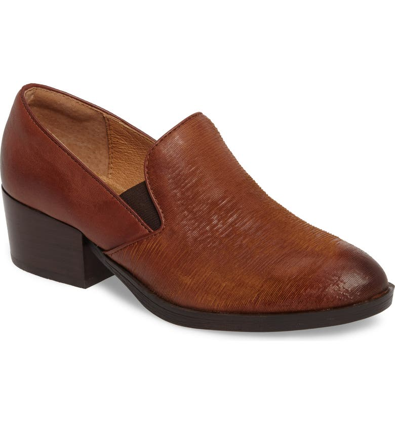 SÖFFT Velina Pump, Main, color, WHISKEY/ CAFFE LEATHER