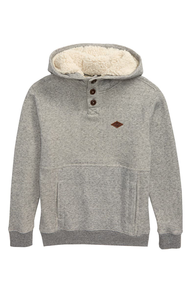 BILLABONG Hudson Fleece Pullover Hoodie, Main, color, 050