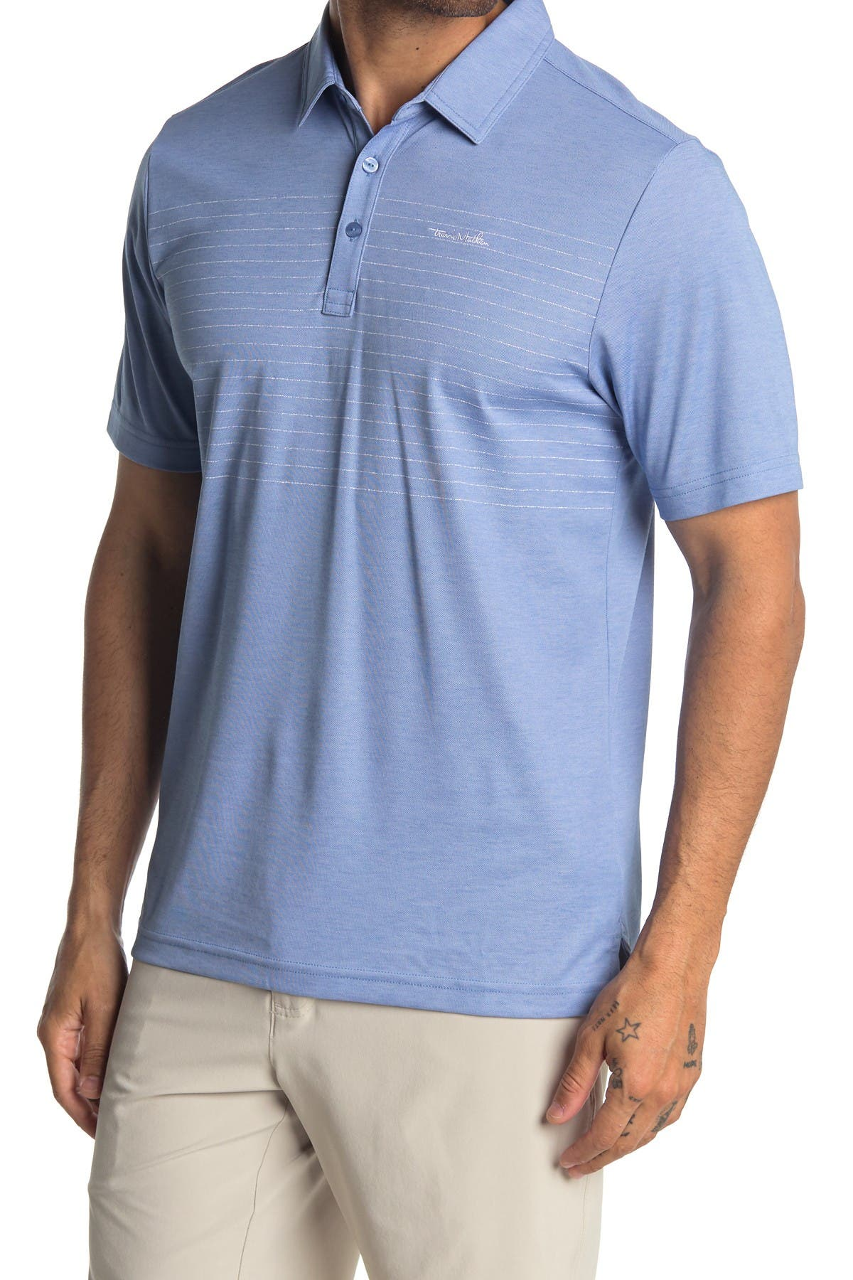 Image of TRAVIS MATHEW Barton Creek Polo Shirt