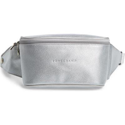Longchamp Le Foulonne Leather Belt Bag - Metallic