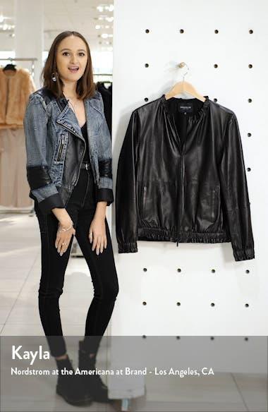 Rylan Leather Jacket, sales video thumbnail