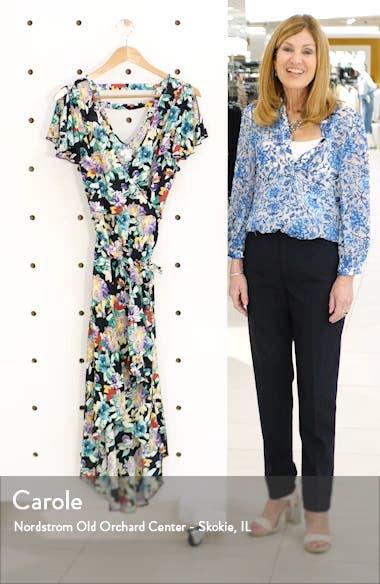 Iris Wrap Dress, sales video thumbnail