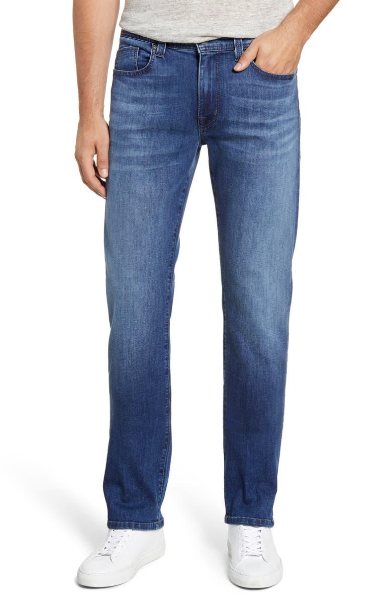 FIDELITY DENIM Jimmy Slim Straight Leg Jeans, Main, color, OPTIC