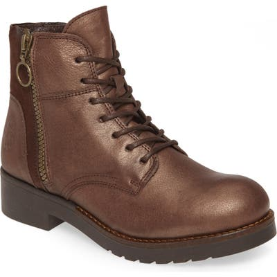 Fly London Buna Water Resistant Bootie - Brown
