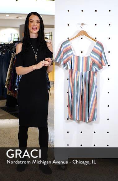 Square Neck Minidress, sales video thumbnail