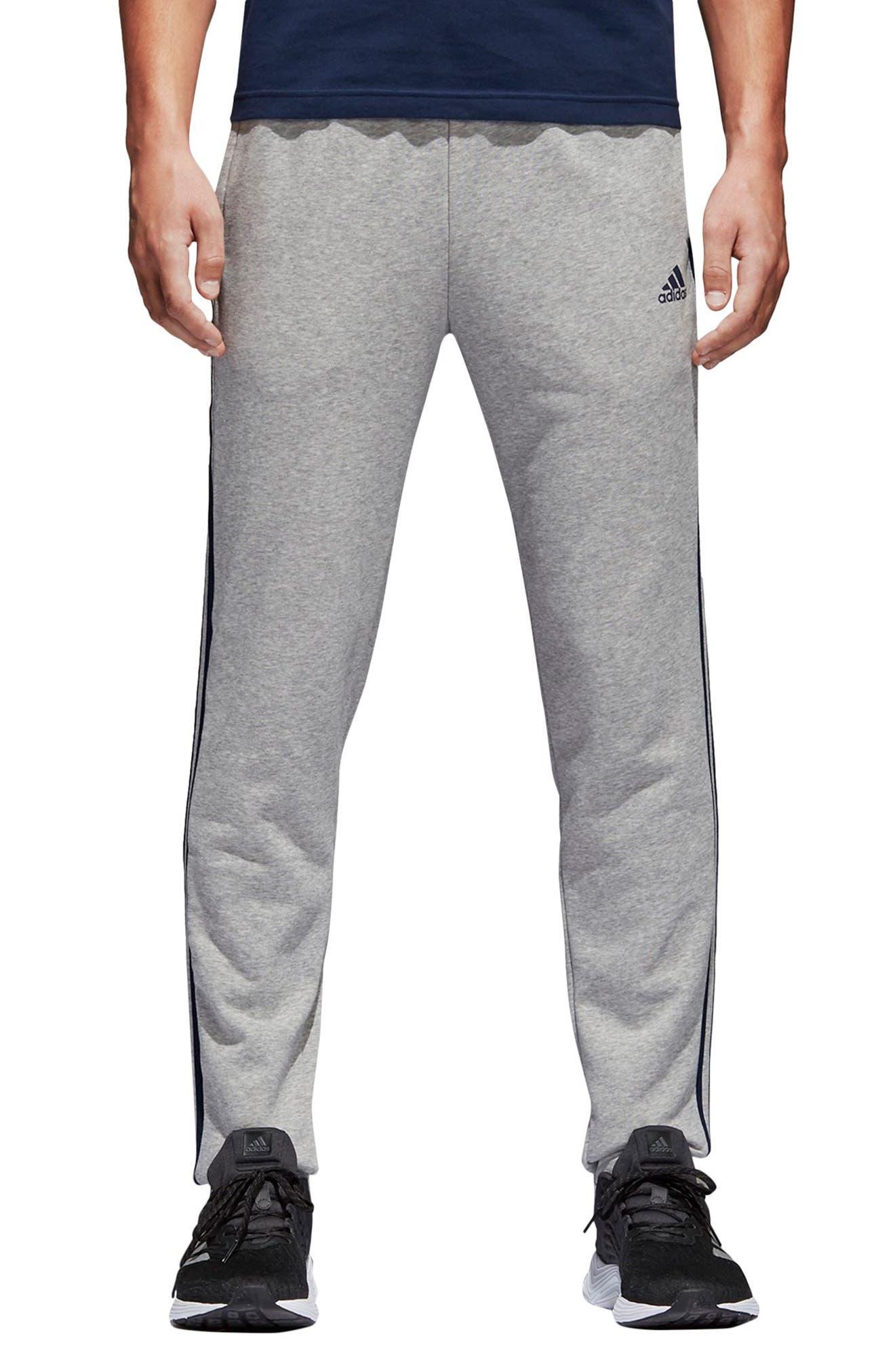 Adidas Essentials 3-Stripes Straight Leg Sweatpants