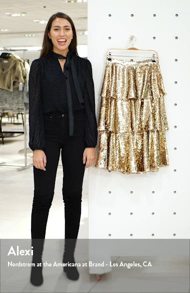 Tiered Sequin Skirt, sales video thumbnail