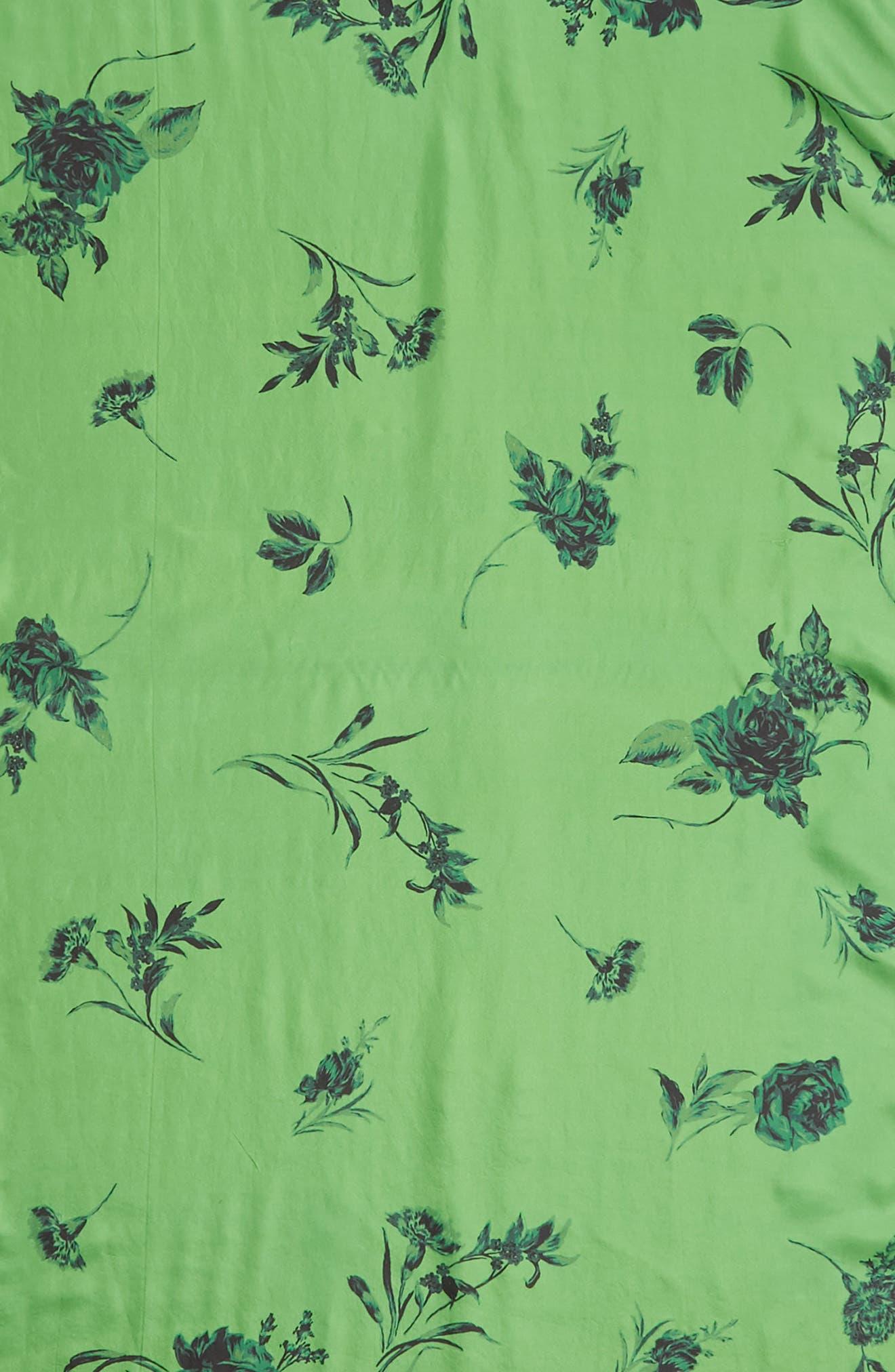 ,                             Floral Silk Wrap,                             Alternate thumbnail 4, color,                             310