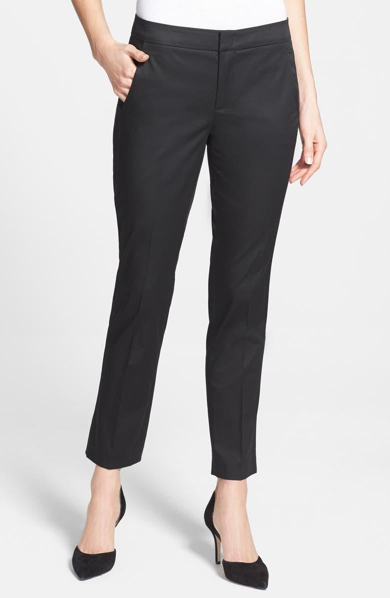 VINCE Crop Flare Leg Pants, Main, color, 001