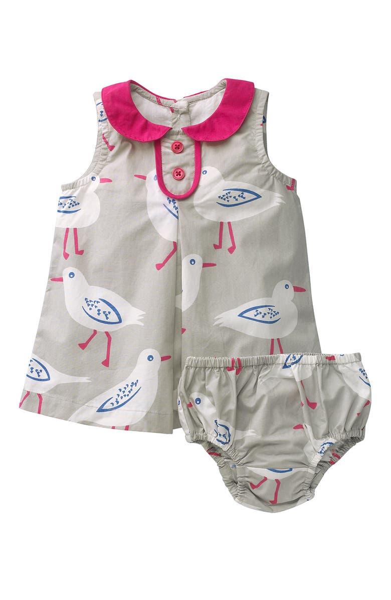 MINI BODEN 'Vintage' Poplin Dress, Main, color, 020