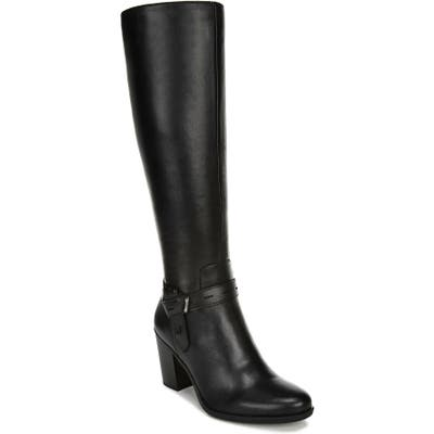 Naturalizer Kamora Knee High Boot Regular Calf W - Black