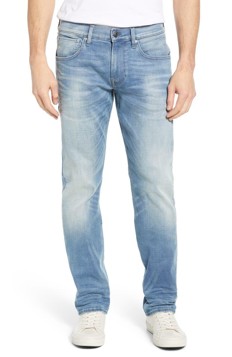 HUDSON JEANS Byron Slim Straight Leg Jeans, Main, color, 455