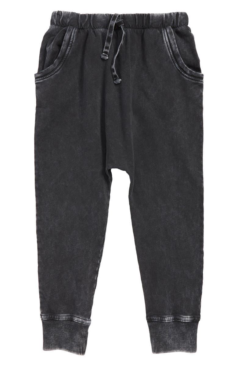 STEM Superwash Sweatpants, Main, color, BLACK SUPER WASH