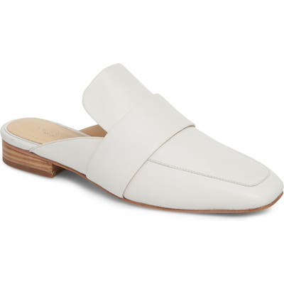 Rag & Bone Aslen Loafer Mule - White