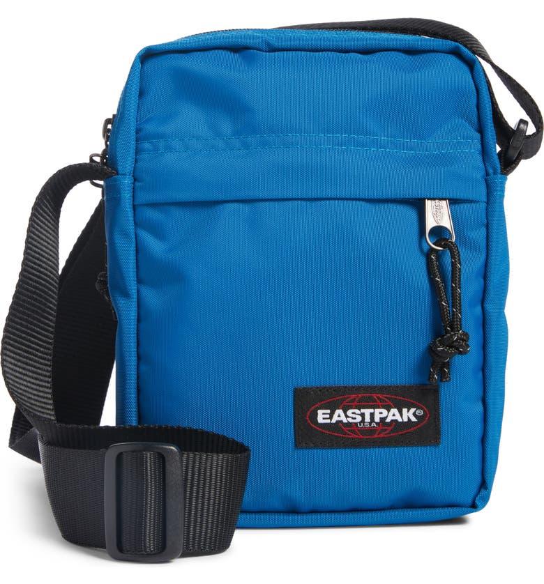 EASTPAK The One Nylon Crossbody Bag, Main, color, BLUE NORD