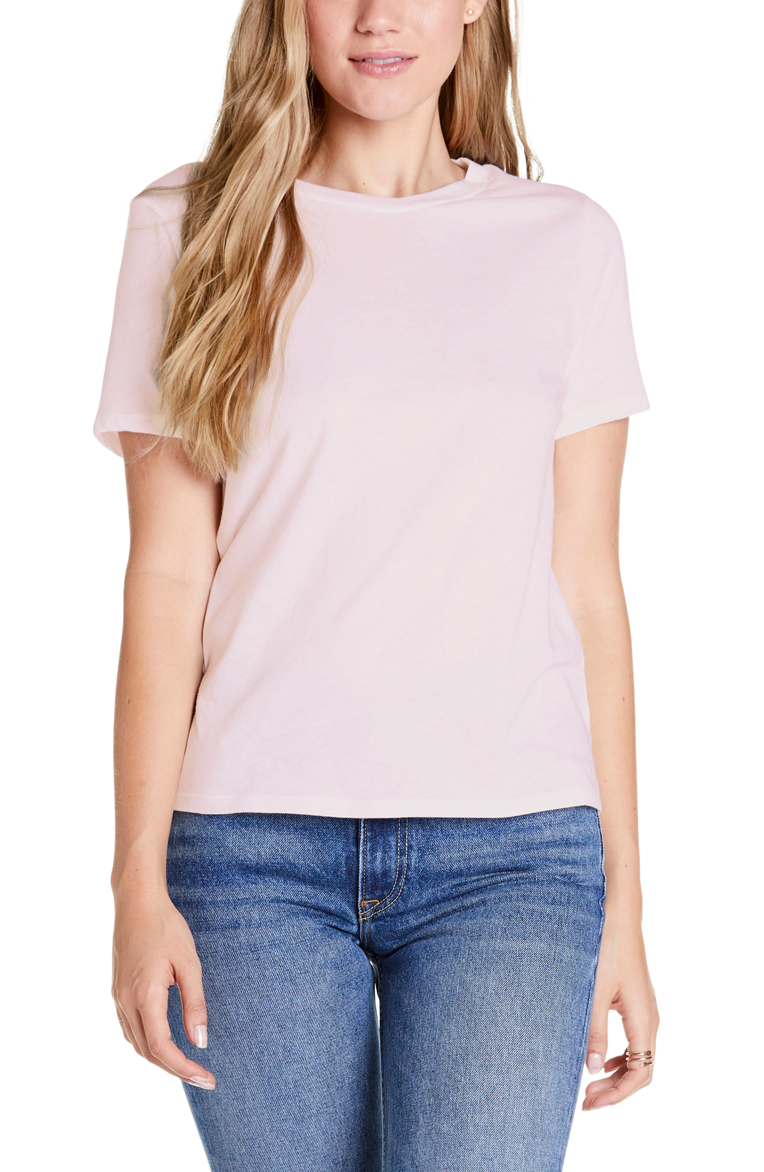Michael Stars Vintage Jersey Collection Classic Fit Tee, Pink