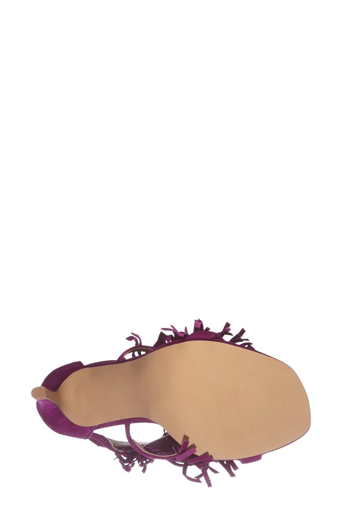 ,                             'Fringly' Sandal,                             Alternate thumbnail 21, color,                             500