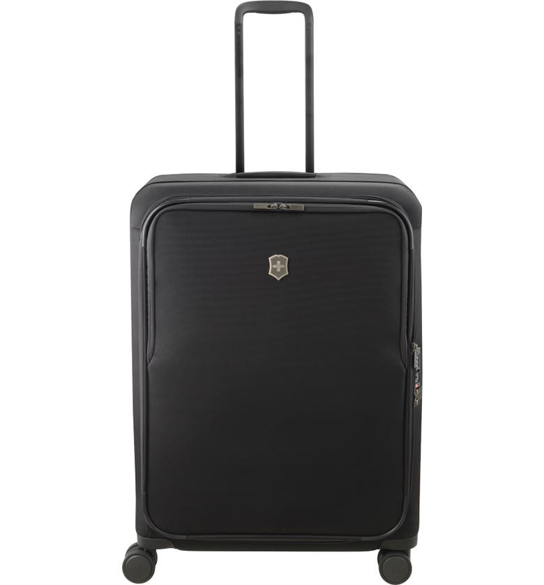 VICTORINOX SWISS ARMY<SUP>®</SUP> Connex Large 28-Inch Spinner Packing Case, Main, color, BLACK