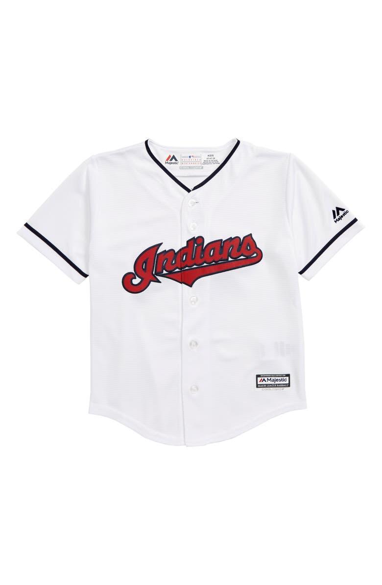 7d19e9e0 Majestic MLB Cleveland Replica Baseball Jersey (Toddler Boys ...