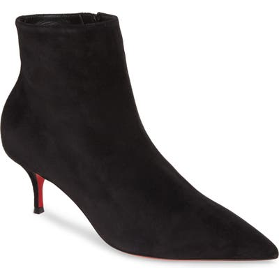 Christian Louboutin So Kate Pointed Toe Bootie, Black