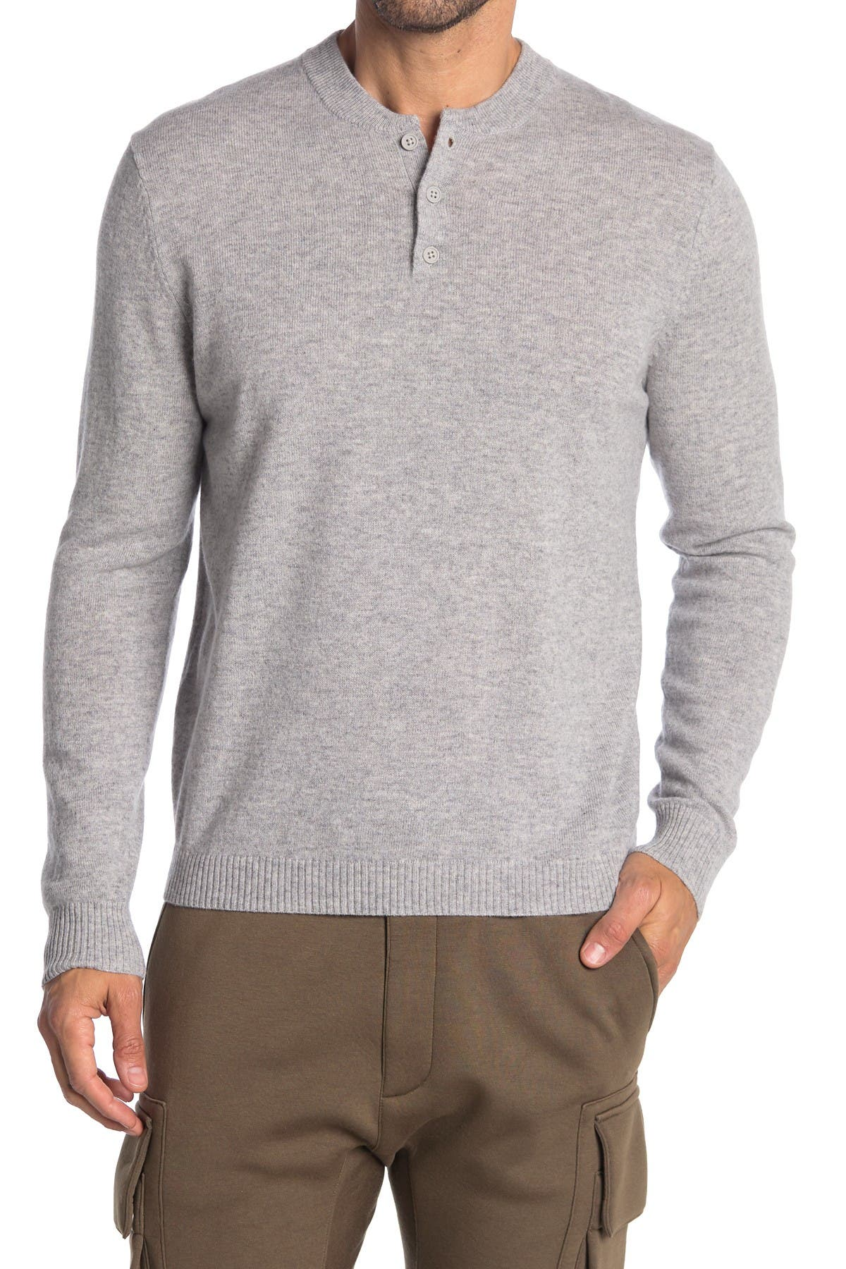 Image of Stewart of Scotland Cashmere Relaxed Henley