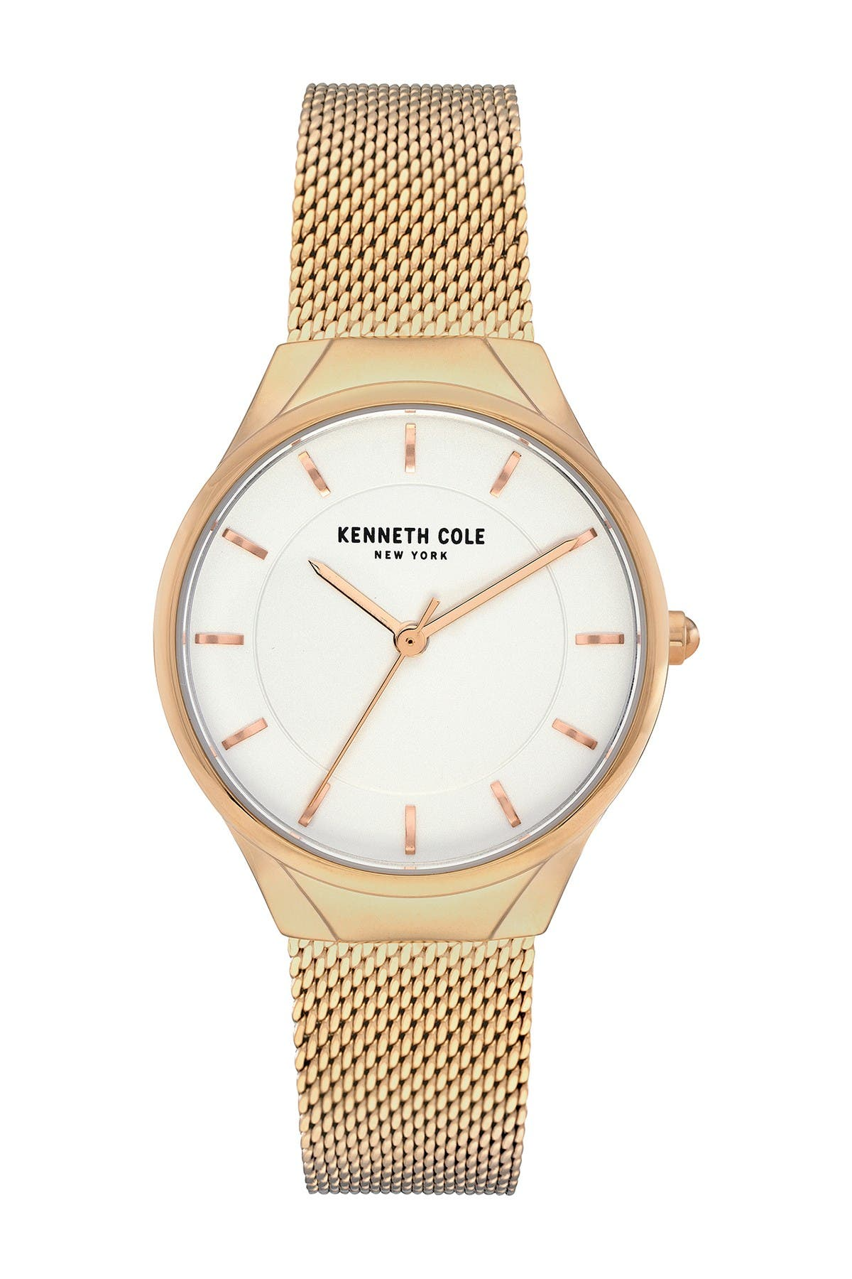 Image of Kenneth Cole New York Women's Mesh Bracelet Watch, 32mm
