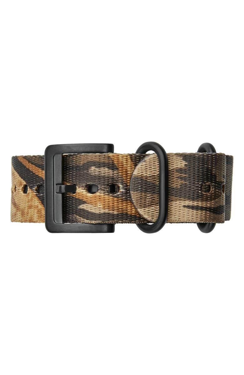 FILSON Field 20mm Watch Strap, Main, color, SHADOW GREY