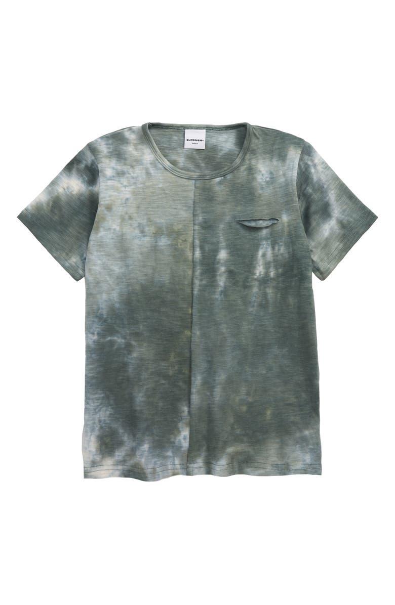 SUPERISM Travi Tie Dye T-Shirt, Main, color, 300