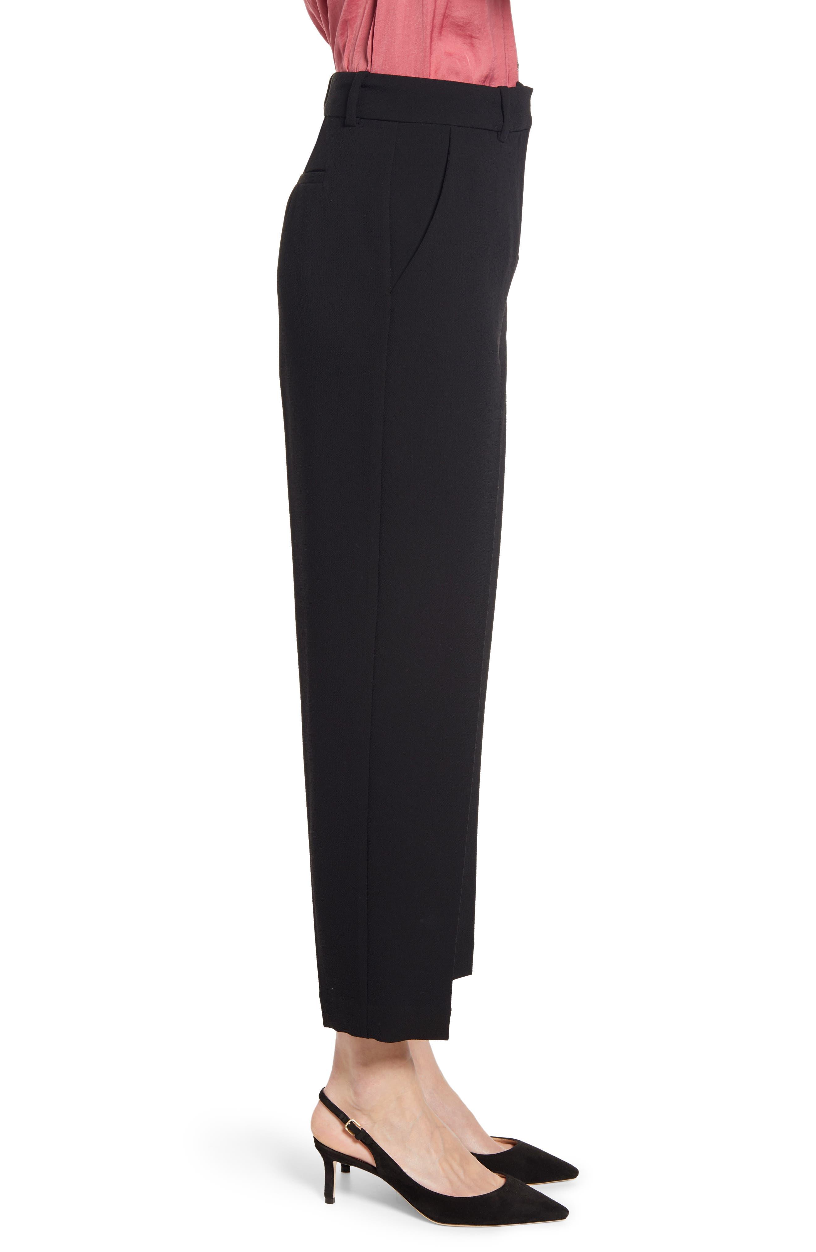 ,                             Parisian Crepe Trousers,                             Alternate thumbnail 4, color,                             006