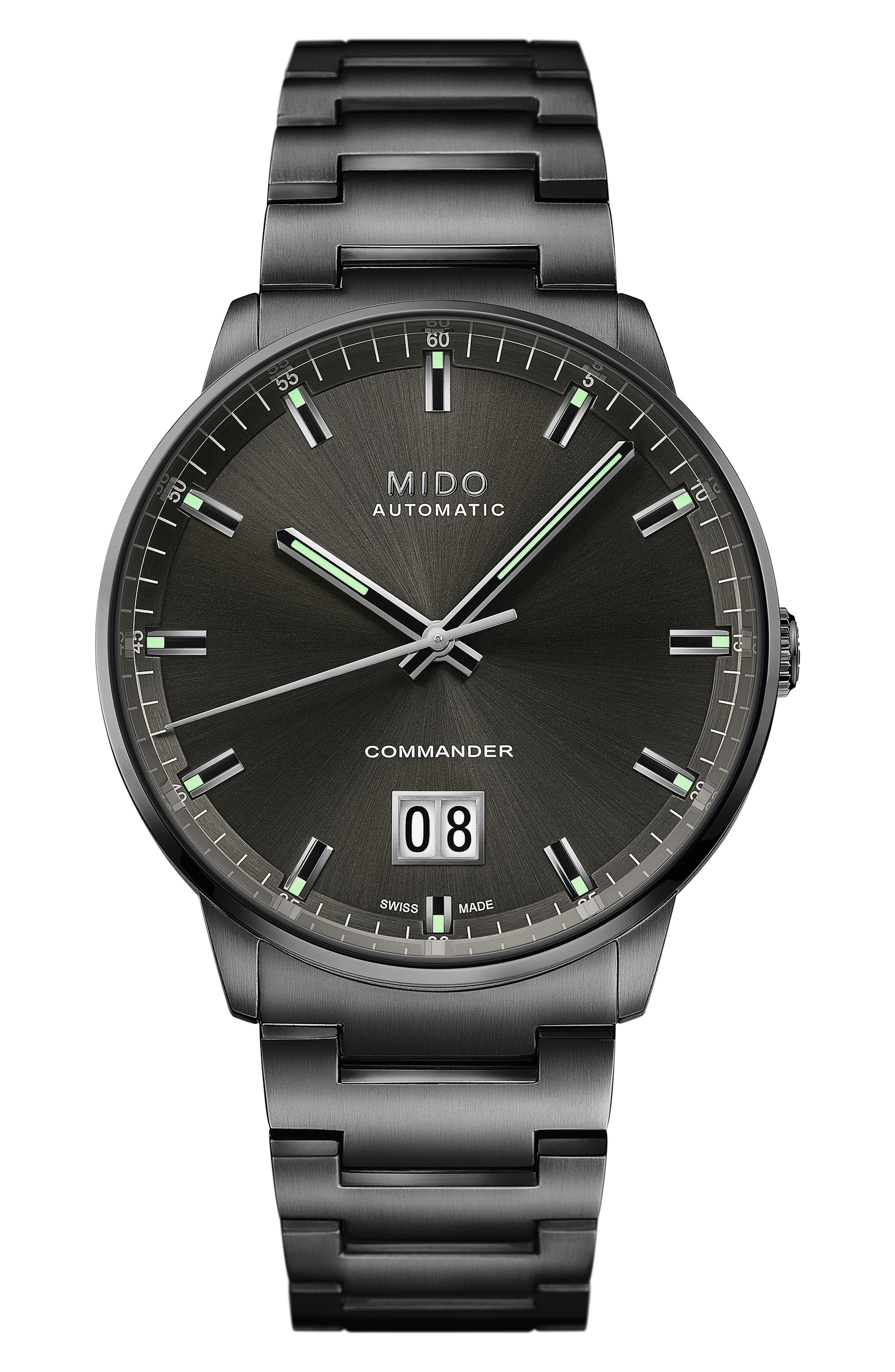 Commander Big Date Automatic Bracelet Watch