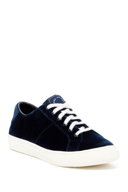 Image of Marc Jacobs Empire Velvet Low-Top Sneaker