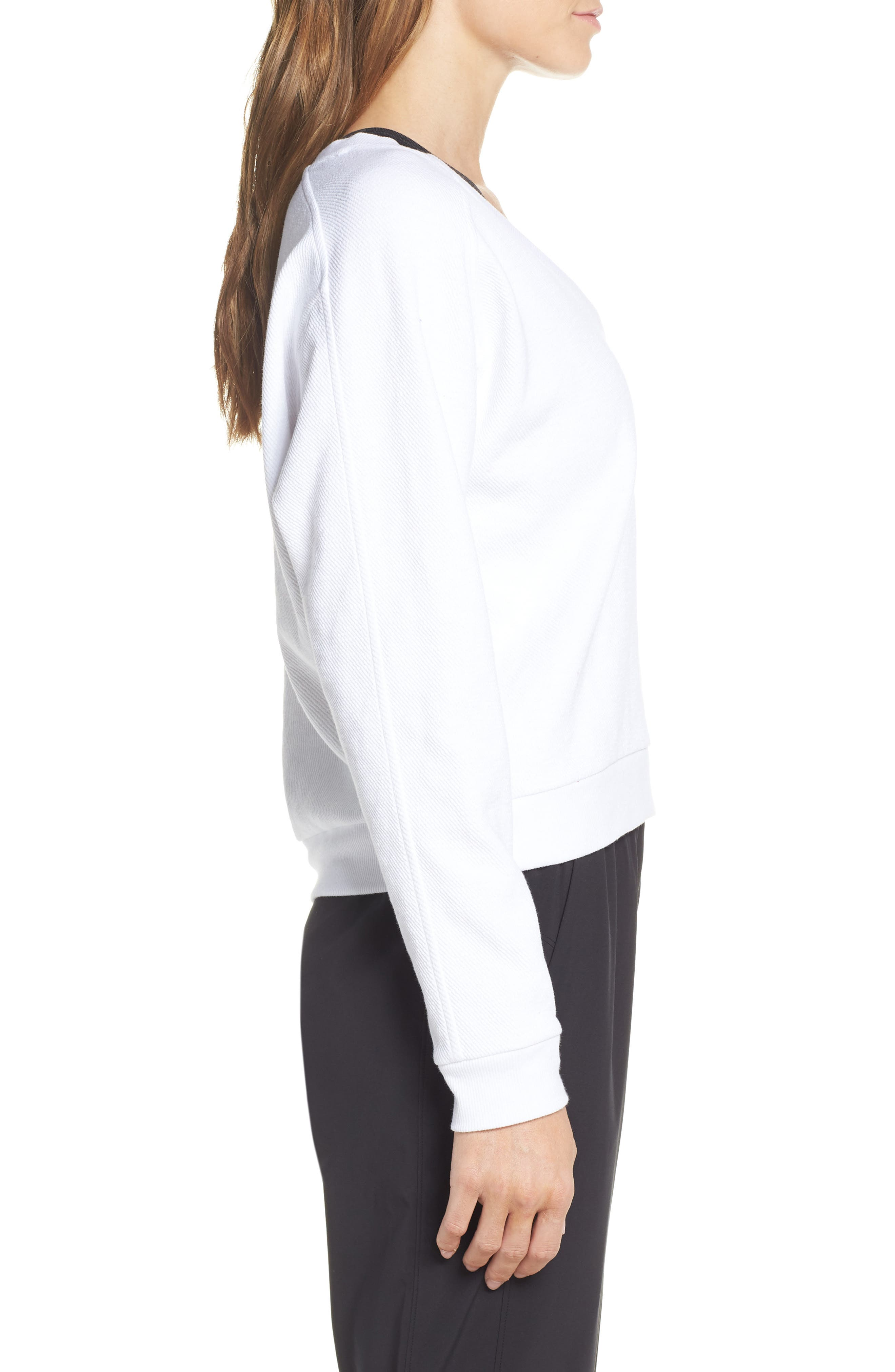 ,                             Vienna Pullover,                             Alternate thumbnail 6, color,                             WHITE