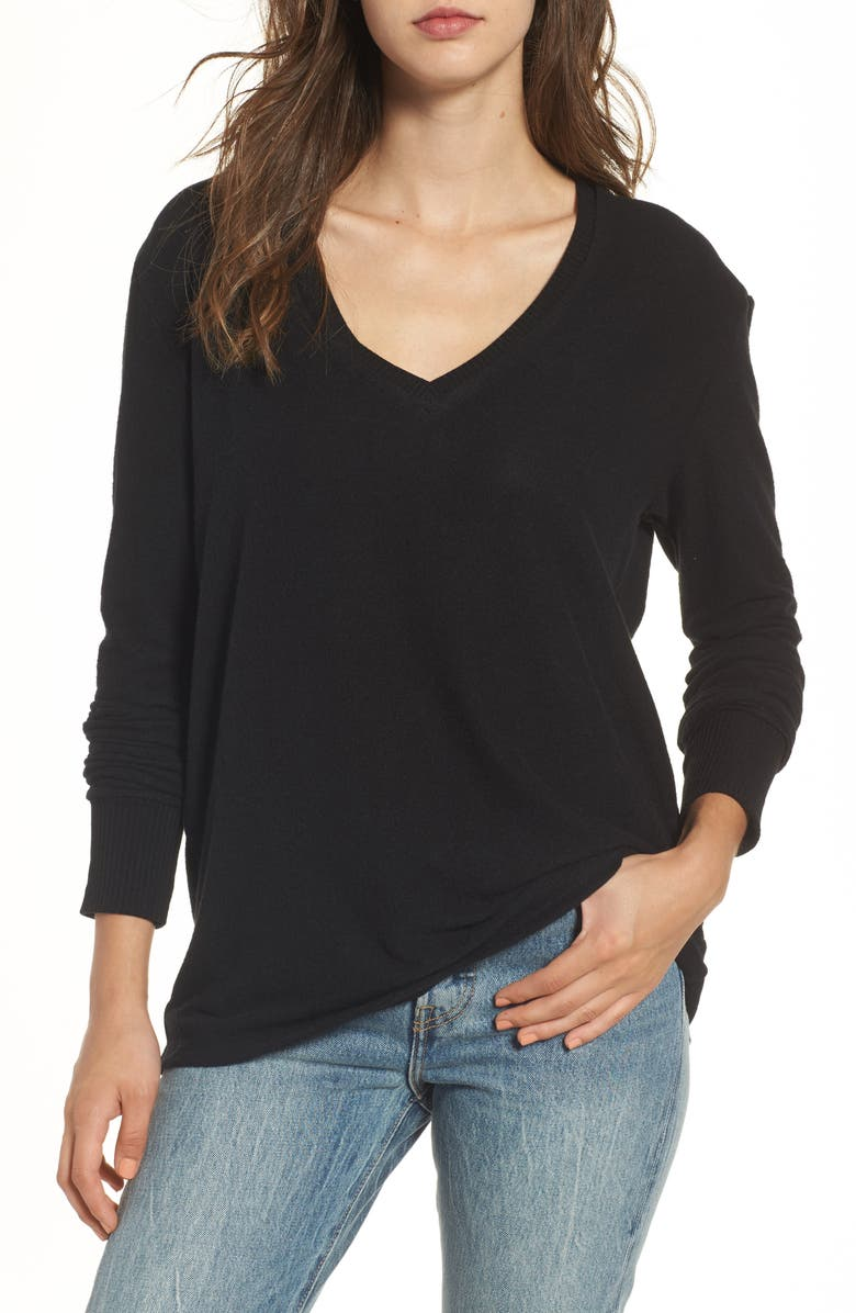 BP. V-Neck Pullover, Main, color, 001