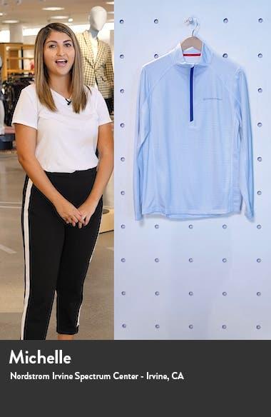 Sankaty Stripe Half Zip Performance Pullover, sales video thumbnail