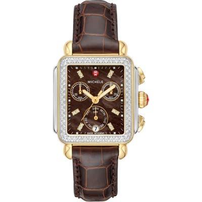 Michele 1m Alligator Watch Strap